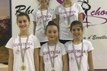 Ginnaste sommarivesi fanno incetta di medaglie in gara nel Torinese