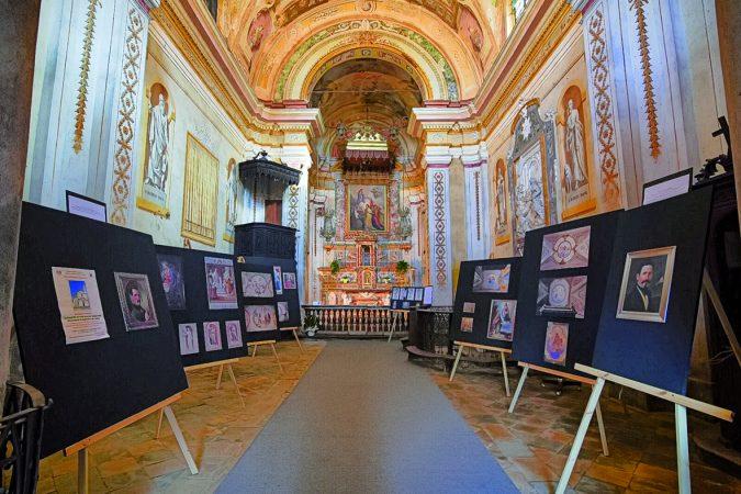 La mostra sul Borri ha «ripulito» chiesa maltrattata a Sommariva del Bosco