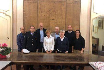 Il saluto dell'amministrazione comunale di Cherasco a tre dipendenti che vanno in pensione