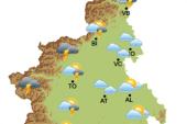 Maltempo: allerta dell'Arpa, attesi forti temporali nella giornata di mercoledi 28 agosto