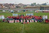 140 ragazzi delle medie di Dogliani al Flash mob dei giovani Anpas
