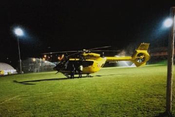 Elisoccorso notturno, a Santa Vittoria d'Alba nuova area di atterraggio