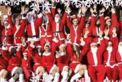 A Monticello d'Alba torna il raduno dei Babbi Natale a favore del Regina Margherita