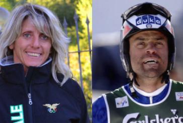 Kristian Ghedina e Stefania Belmondo lanciano la nuova stagione sciistica cuneese
