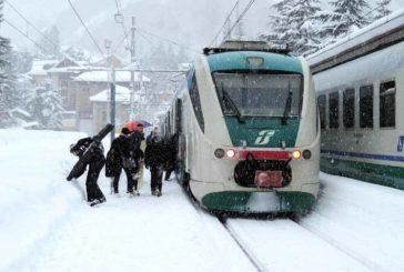 Le nevicate metteranno in crisi pure i treni