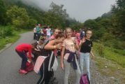 Le classi seconde dell'Istituto Einaudi di Dogliani al trekking in gita
