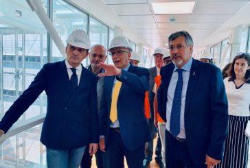 Cirio e Icardi a Verduno: scusate il ritardo, l'ospedale aprirà nel 2020