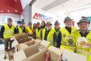 Il Gruppo Alpini di Bra fra i volontari della colletta alimentare