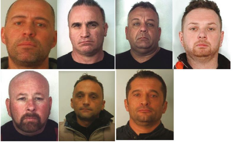 Associazione a delinquere per furti e rapina: 7 arresti