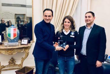 Marta Bassino ricevuta dal presidente di Regione Piemonte Alberto Cirio