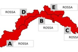 Domani allerta rossa in Liguria: chiusa la A6 tra Altare e Savona