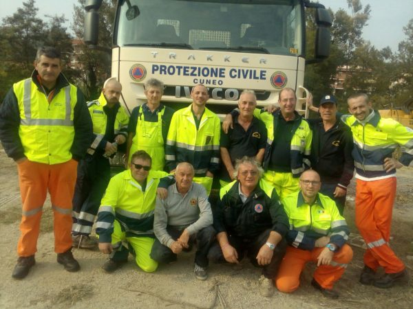 Festeggiamenti per i 20 anni di protezione civile a Ceresole d'Alba