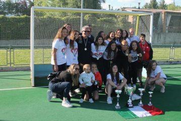 HOCKEY FEMMINILE – Lorenzoni Under 18 campione d'Italia