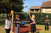 Il Comune di Santo Stefano Belbo inaugura il suo parco giochi inclusivo