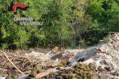Discariche abusive e roghi di rifiuti, denunce dei carabinieri forestali