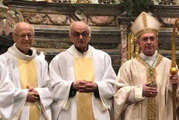 Don Meo Bessone e don Luigino Galleano Cappellani di Sua Santità
