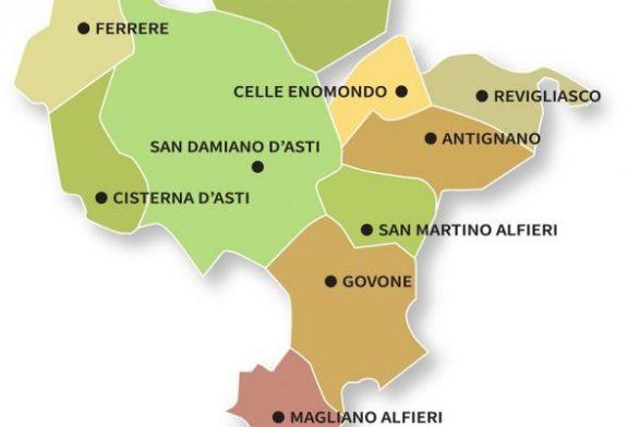 Si celebrano i 10 anni della Doc Terre Alfieri, lunedì 27 a San Damiano d'Asti
