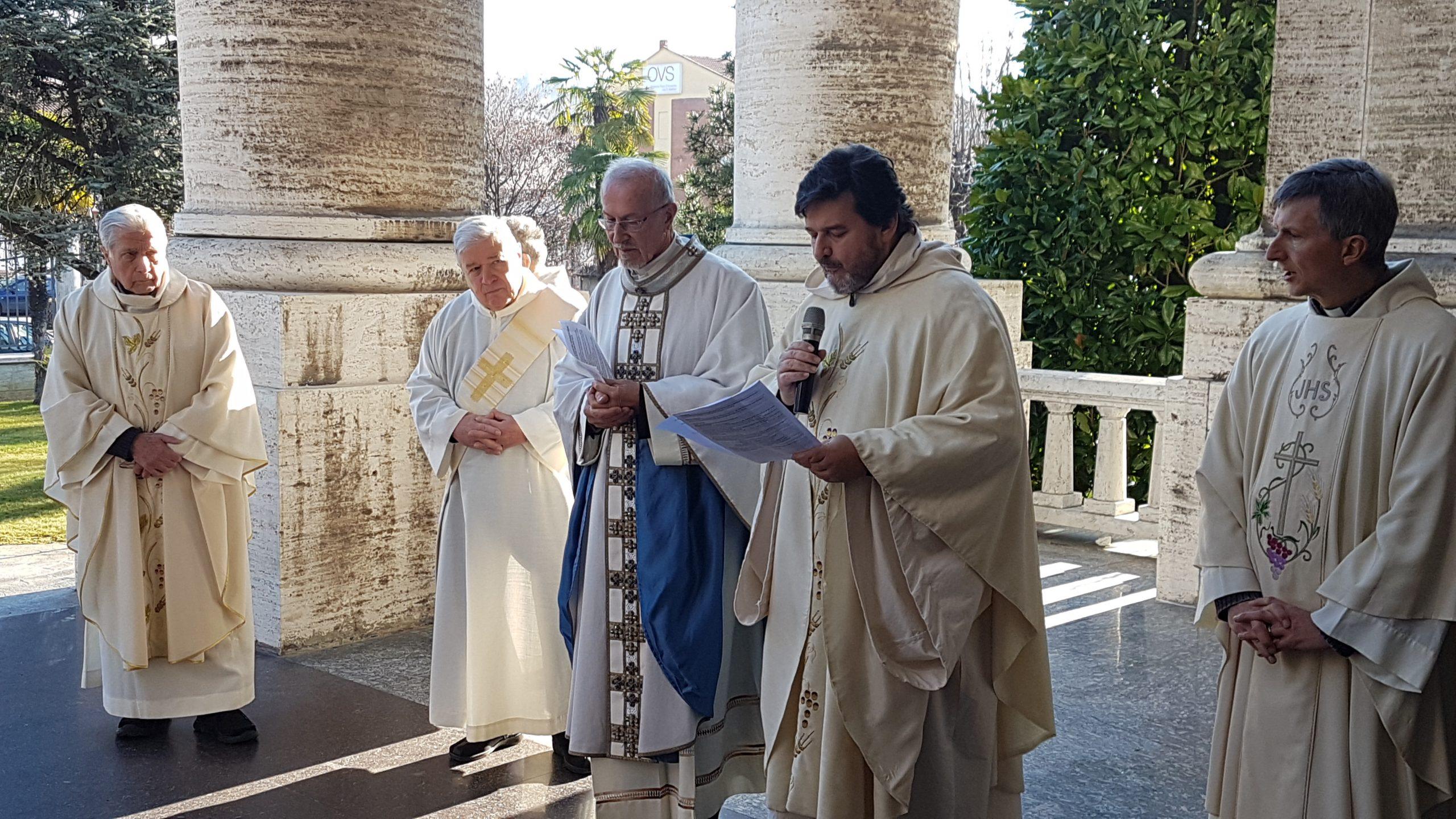 Madonna dei Fiori: Monsignor Giuseppe Trucco ha fatto il suo ingresso in Santuario
