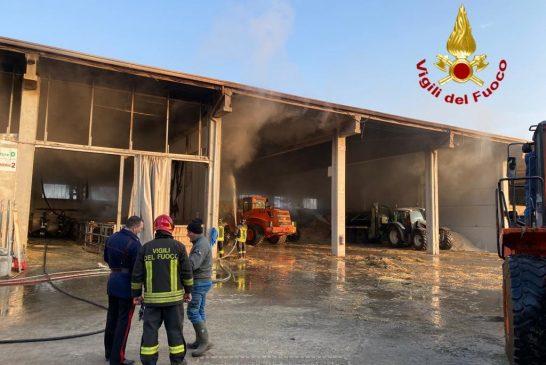 Caramagna Piemonte: Incendio in una stalla, 10 capi di bestiame uccisi