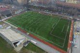 """Alba: pronto il nuovo manto verde del campo sportivo """"Coppino"""""""