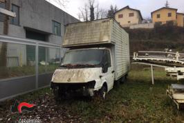 Reati ambientali contestati dai Carabinieri ad una ditta in Valle Uzzone