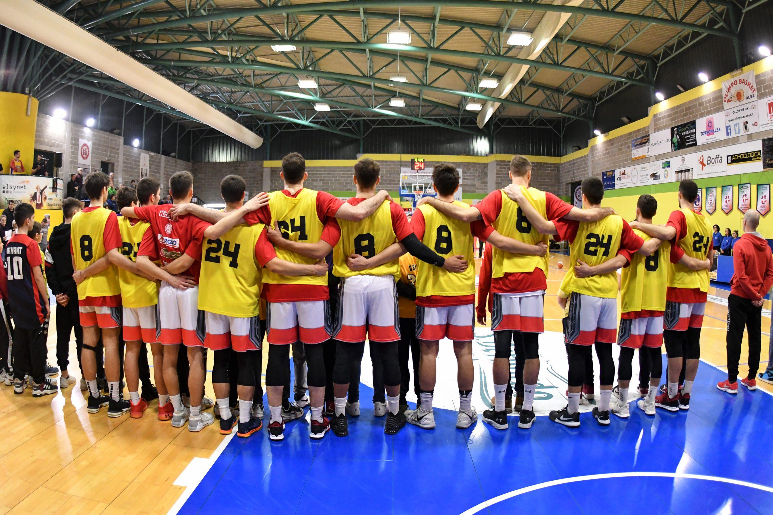 """Olimpo Basket Alba: una vittoria per ricordare il """"Mamba"""" Bryant"""