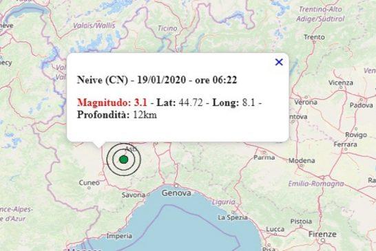 Terremoto in Piemonte: la Regione sta monitorando la situazione