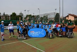 Il Tennis in carrozzina protagonista ad Alba al prossimo Junior Wheelchair Tennis FIT 2020