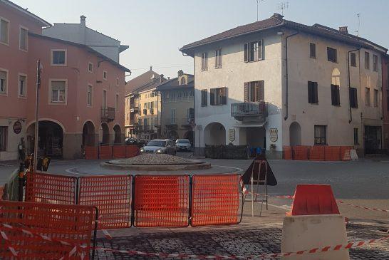 Sommariva Bosco: al via i lavori di riqualificazione di Piazza Roma