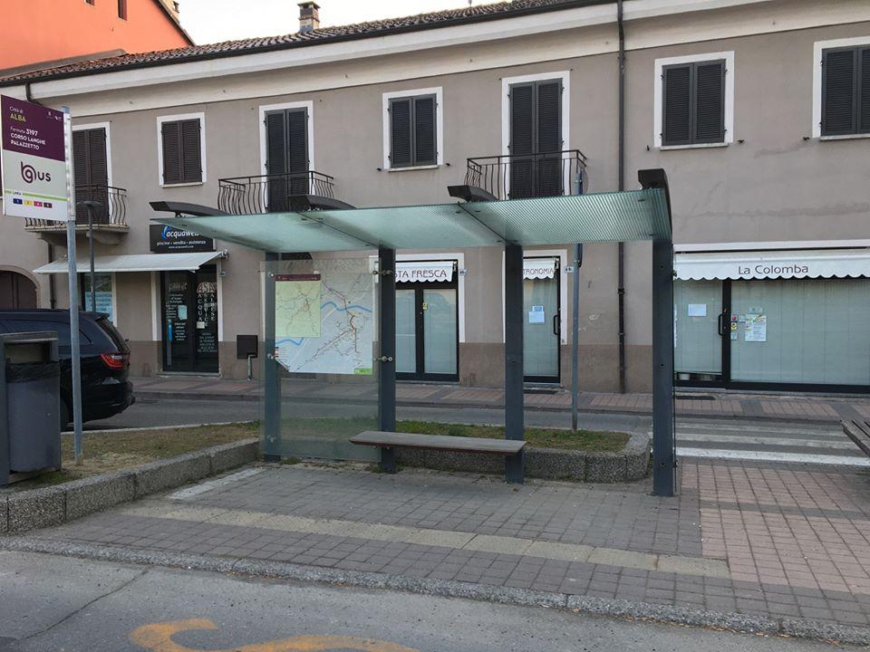 Alba: approvato il progetto per la manutenzione straordinaria delle pensiline alle fermate degli autobus