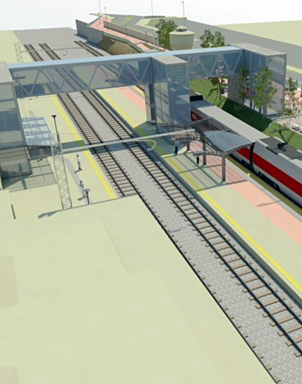 Alba, lavori alla passerella ferroviaria: pronto a giugno il collegamento tra stazione e Città Studi