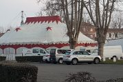Il circo senza animali dei fratelli Medini torna in Piazza Giolitti a Bra
