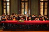 """Alba: le classi V della scuola """"Rodari"""" in visita al Palazzo comunale"""