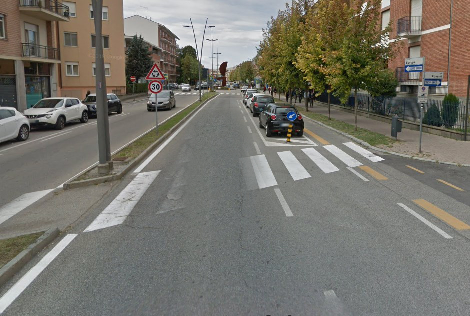 Alba: divieto di sosta nel primo tratto di Corso Europa, da lunedì 24 febbraio