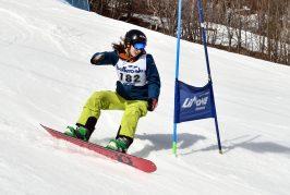 L'albese Paolo Oberto campione provinciale studentesco di snow-board
