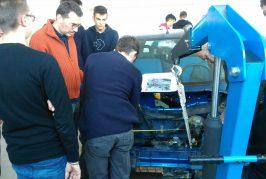 """Una """"600"""" elettrica costruita dagli studenti del Vallauri di Fossano"""
