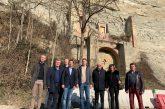L'Assessore regionale Marco Gabusi in visita a Dogliani