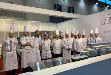 L'Associazione Cuochi provincia Granda con il Team Cuochi Cuneo-Piemonte si aggiudica i Campionati della cucina italiana