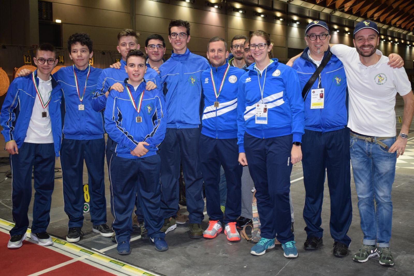 Bronzo ai Campionati italiani di Rimini per il Clarascum