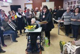 Corneliano festeggia Andreina e i suoi 104 anni