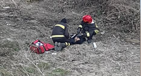 Alba: uomo soccorso sotto il ponte del Cherasca in Via Santa Margherita