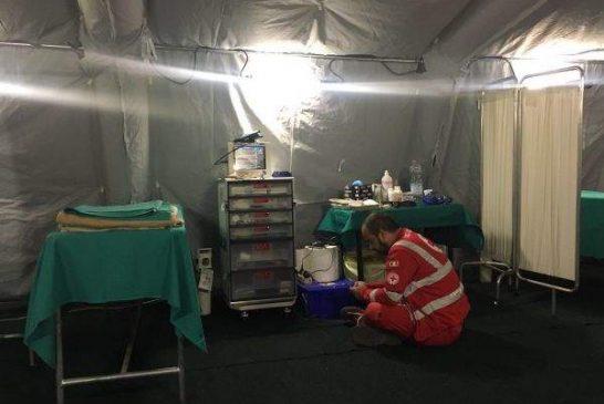Coronavirus, la Regione Piemonte dispone l'allestimento di tende da campo davanti ai pronto soccorso per le attività di pre-triage