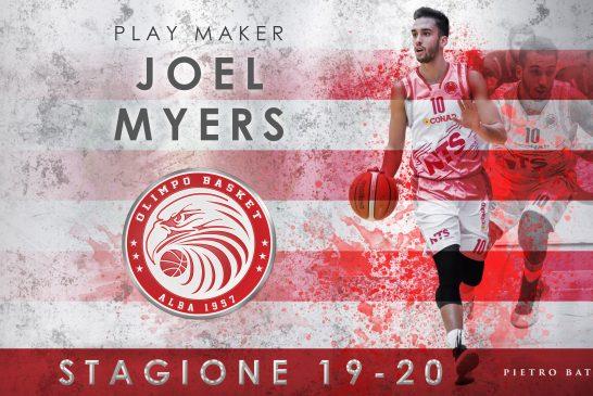 Joel, il figlio d'arte della stella Carlton Myers nuovo acquisto per l'Olimpo Basket Alba