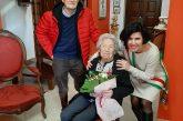 L'aria, la cucina e il buon vino di Verduno fanno bene a nonna Celestina che compie 103 anni