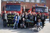 La leva del 70 di Alba omaggia di un nuovo trapano i Vigili del fuoco