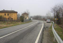 Si studia progetto di rettifica delle curve sulla provinciale 7 Roddi-Pollenzo in località Toetto