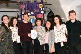 """Una serata all'insegna della multietnicità Il gruppo """"Saber Système"""" ha presentato il proprio progetto di musica al Lions Club Carrù-Dogliani"""