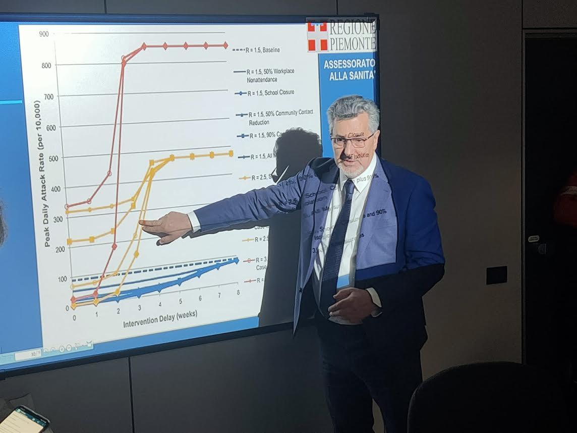 Coronavirus: l'Assessore regionale alla Sanità presenta i dati della ricerca epidemiologica e la situazione dei contagi