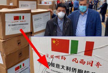 Coronavirus: dalle associazioni cinesi materiale sanitario, quando l'umanità si vede nel momento del bisogno