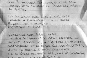 Coronavirus,  i detenuti del carcere di Alba fanno una donazione per il San Lazzaro